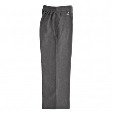 Pull Up Trouser - Grey